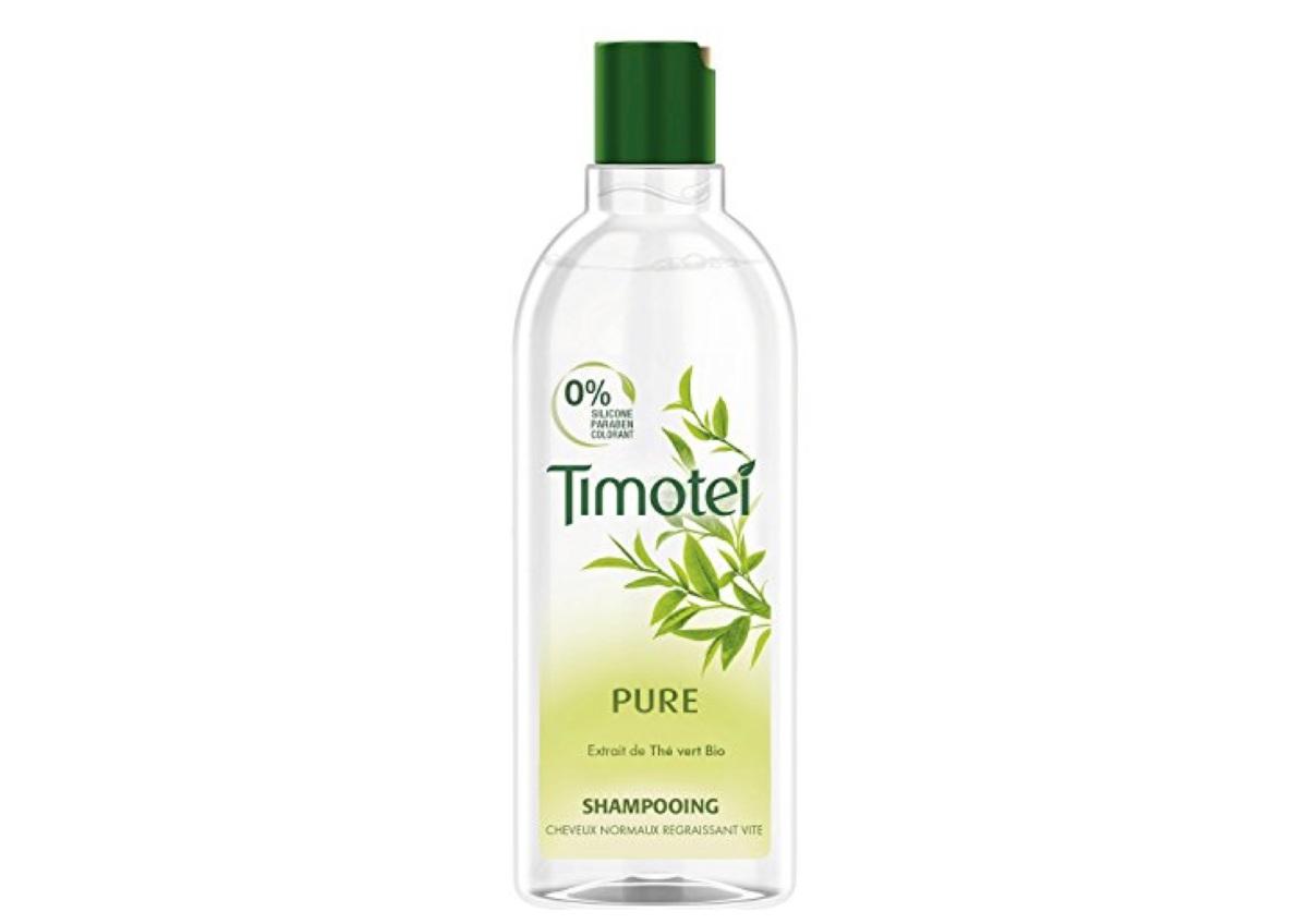 Timotei - Shampooing Pure à l'extrait de Thé vert Bio